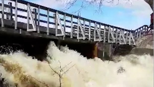 SMHI varnar för vårflod