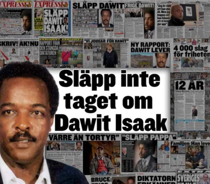 5 000 dagar. Journalisten Dawit Isaak fängslades av den brutala regimen i Eritrea. Foto: Privat