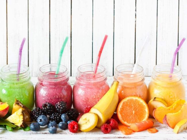 <span>Äter du en smoothie till måltiderna kan det bli mer kalorier än du behöver.</span>