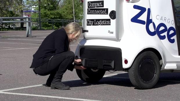 Batteribyte ska effektivisera lätta elbilar
