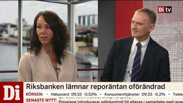 Riksbanken och Ingves lämnar räntan oförändrad