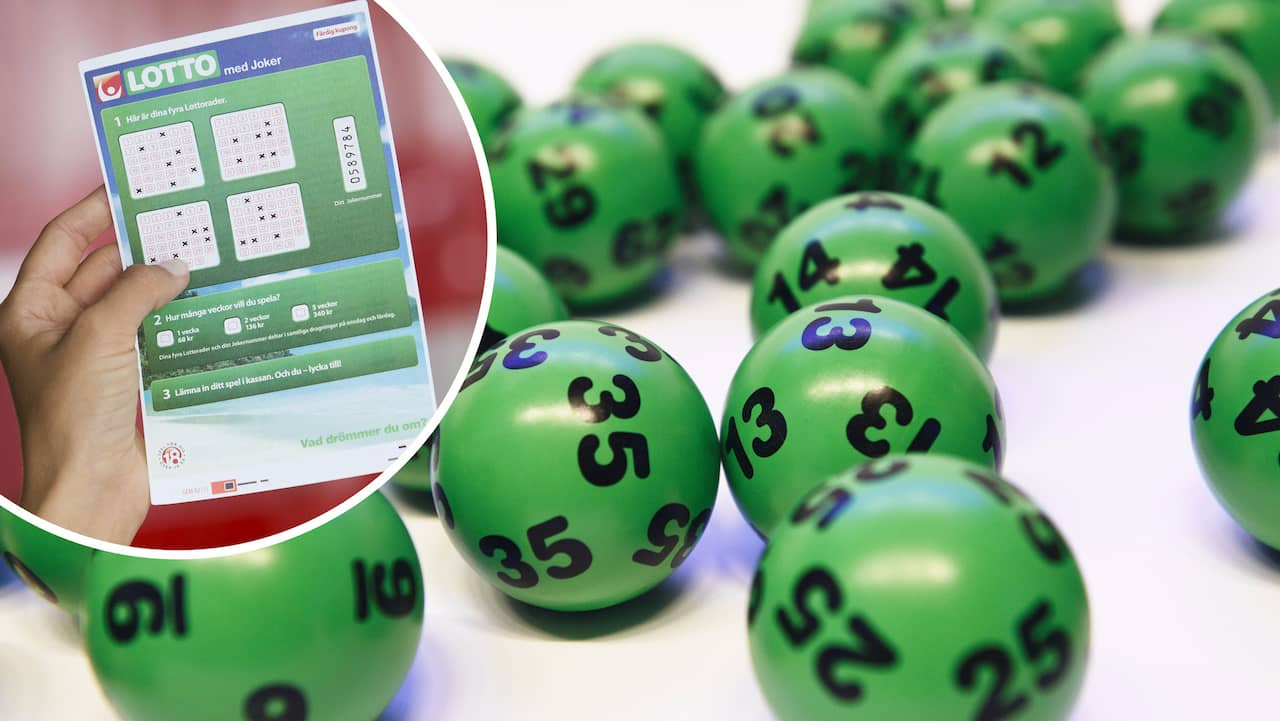 Vann 87 miljoner på Lotto – vinnaren söks