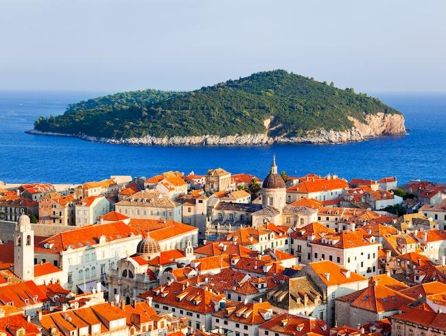 Dubrovnik är Kroatiens största stad.