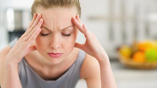 feber vid stress