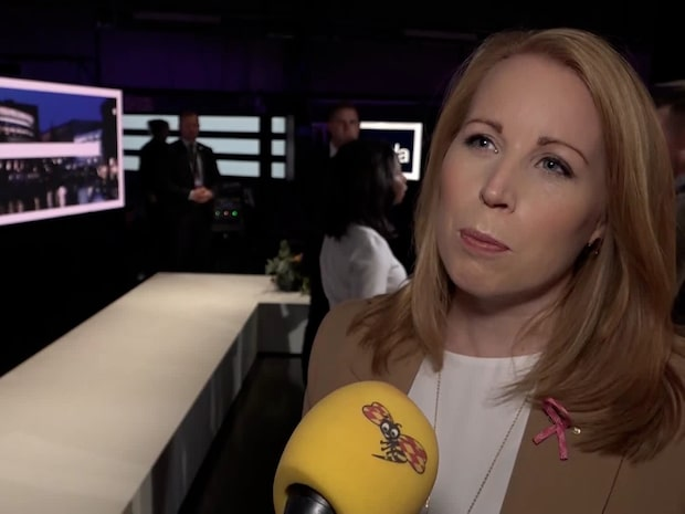 """Annie Lööf: """"Det var en ganska tjafsig debatt"""""""
