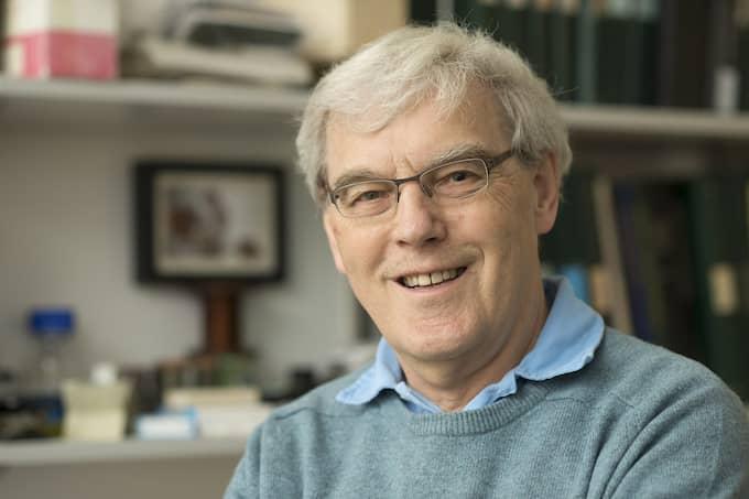 Richard Henderson. Foto: MRC LABORATORY OF MOLECULAR BIOLOGY / EPA TT NYHETSBYRÅN