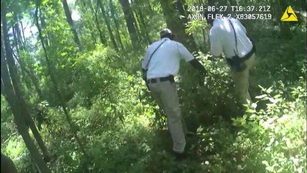 Här hittas den försvunna flickan i skogen – efter nästan ett dygn