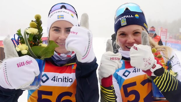 """Svenska medaljörerna: """"Fyra tummar upp"""""""