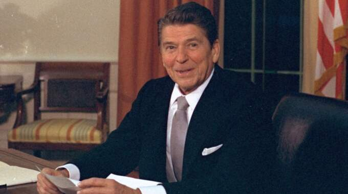 Ronald Reagan var USA:s president 1981–1989. Foto: Barry Thumma / AP