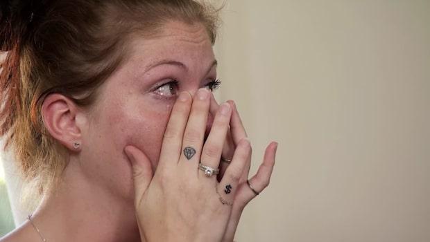 Lyxfällan: Michelle, 27, bryter samman inför programledarna