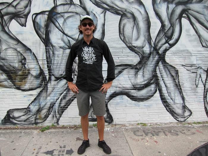 Ryan är både konstnär och guide på Miamis Best Graffiti Guide.