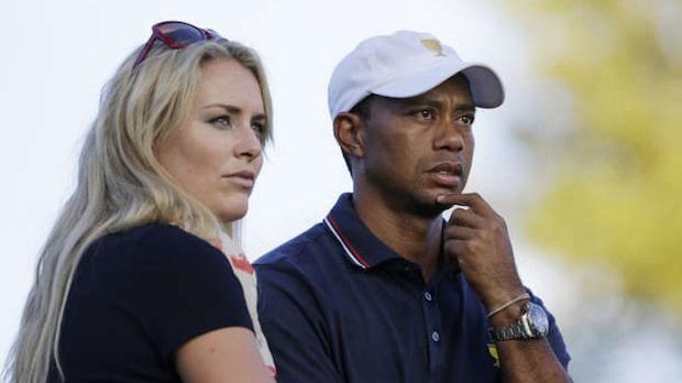 Nakenbild på Tiger Woods läckt ur Vonns telefon