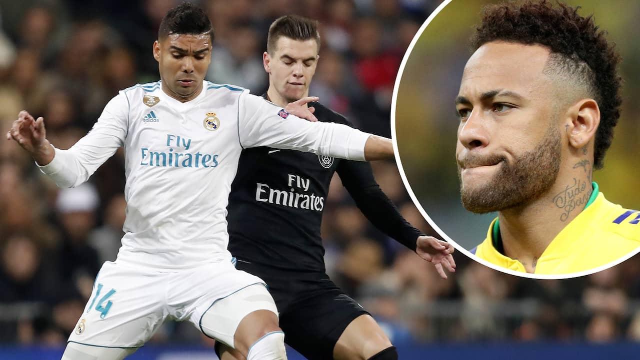 Real Madrids nya drag för att värva Neymar