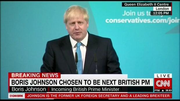 Boris Johnson ny premärminister i Storbritannien