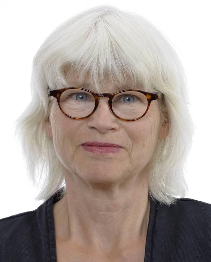 Karin Svensson Smith (MP), ordförande för riksdagens trafikutskott.