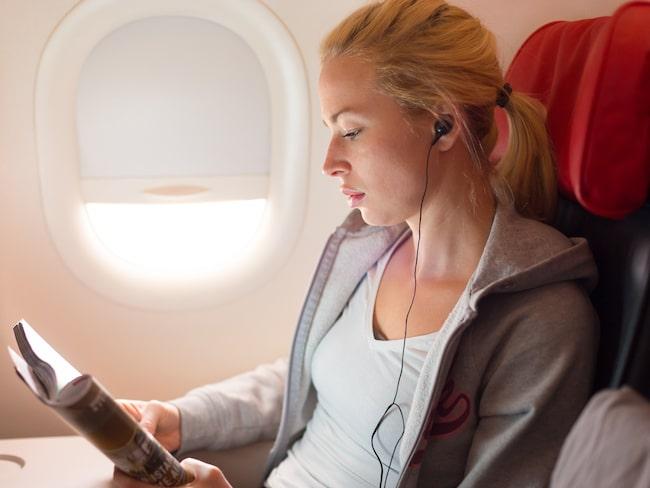 Tänk efter innan du stänger av luftventilen ovanför ditt flygsäte nästa gång.