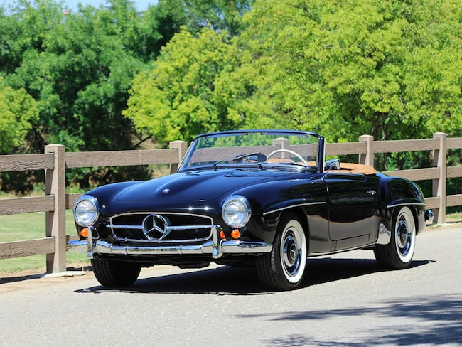 Klassiska Mercedes 190 SL från 1957 är till salu.