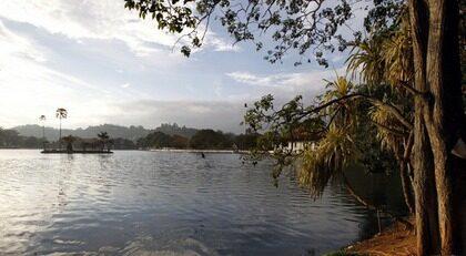 SRI LANKA. Coola Kandy på 500 meters höjd är populärt bland både utländska och inhemska resenärer.