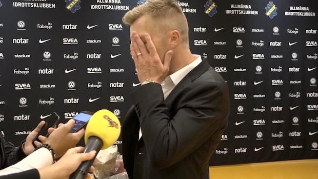 """Sebastian Larsson: """"En enorm besvikelse"""""""