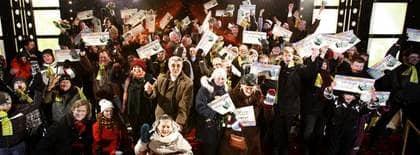 STORVINNARE. Postkodlotteriet delade ut en rekordstor pott i går - och gjorde 16 personer till miljonärer. Foto: Thomas Wingstedt