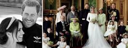 Här är Harry och Meghans  egna bilder från bröllopet