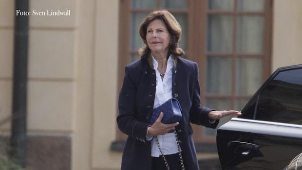 Oron för Silvia efter resan