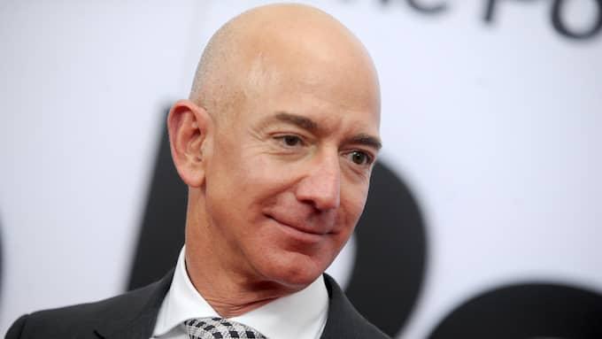 Amazons grundare Jeff Bezos är världens rikaste man. Foto: DENNIS VAN TINE / LFI/AVALON.RED B4575