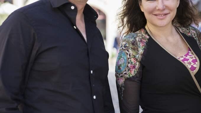 Livet leker ingen för Anders Borg och fästmön Dominika Peczynski sedan mututredningen mot honom lagts ner. Foto: LISA MATTISSON EXP / LISA MATTISSON EXP