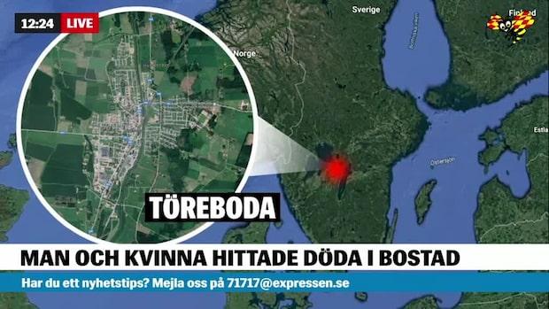 Misstänkt mord – två hittade döda i bostad