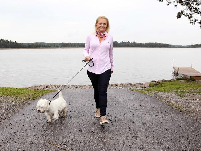 Louise har pendlat i vikt - 40 kilo upp, och lika mycket ner - om och om igen. Nu har hon hittat en hållbar livsstil.