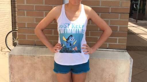 – Ni borde skämmas, skriver Hannah i sitt inlägg. Foto: Privat/Facebook