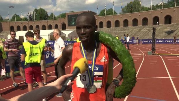 """Lawi Kiptui vann Stockholm Marathon i hettan: """"Känns underbart"""""""