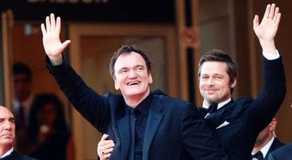"""Brad Pitt och Quentin Tarantino är i Cannes för att presentera nya filmen """"Inglourious Basterds"""". Foto: Michael Buckner"""