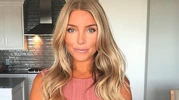 Sanne Alexandra Josefson Från Tv4s Playmakers är Gravid