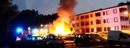 Antalet anlagda bilbränder ökar kraftigt i landet