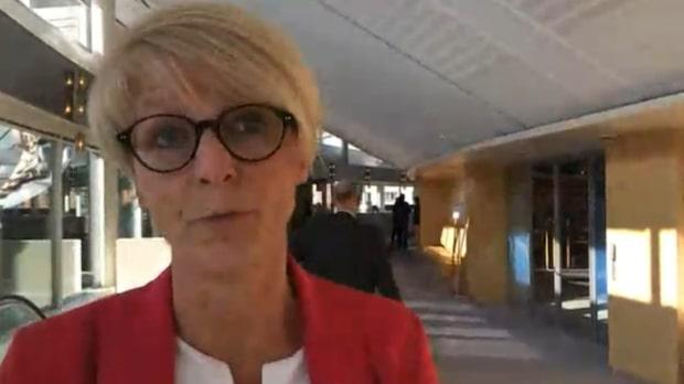 """Elisabeth Svantesson: """"Väldigt glad att det är Ulf som är vår kandidat"""""""