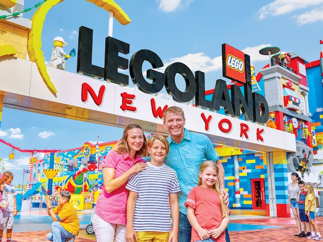Legoland New York slår storleksrekordet.