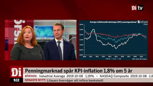 Inflationsförväntningarna fortsätter sjunka