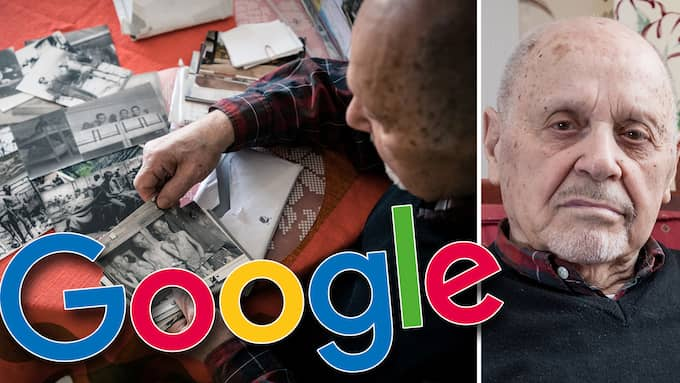 Holocaust survivor Max Safir, 92, is upset that anti-semitic directories of Swedish jews are so easily accessible on Google. Foto: Montage/Jackeline Perez