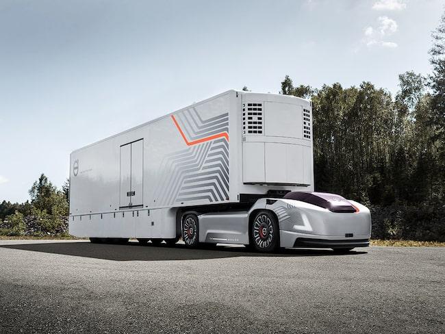 Volvo Lastvagnar utvecklar en ny typ av transportlösning för återkommande transporter med hög precision mellan fasta punkter. Lastbilens namn: Vera.