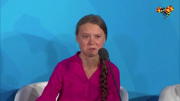 Greta Thunbergs känslofyllda tal i FN