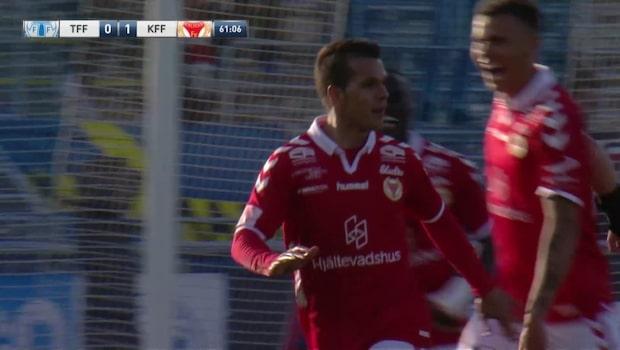 Ramiro ger Kalmar ledningen med volleyskott