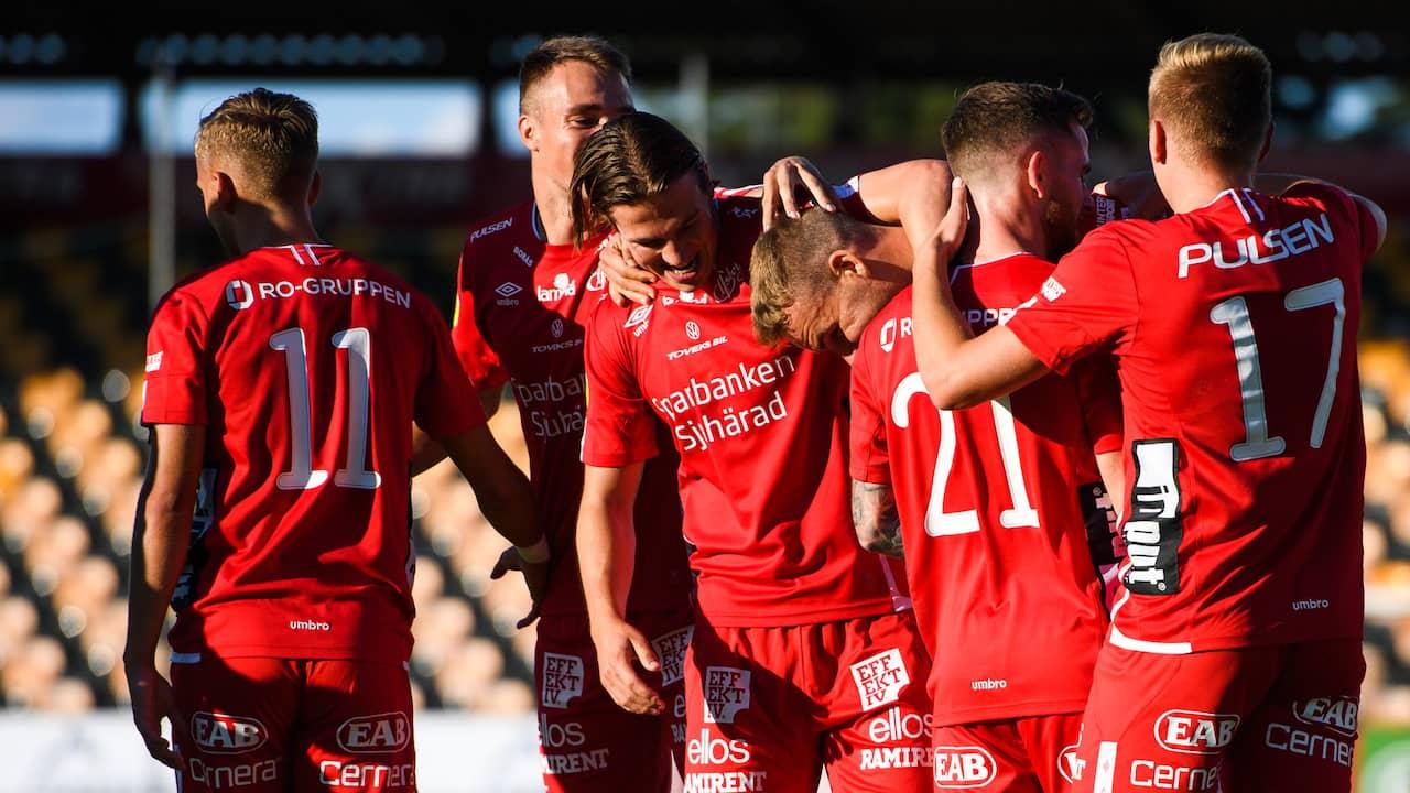 Elfsborgs urladdning: Fyra mål på en halvlek