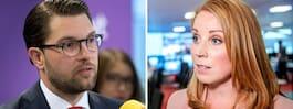 Ökat förtroende för Jimmie Åkesson inom näringslivet