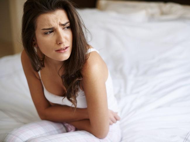 28-åriga Johanna är orolig över sin oregelbundna mens.