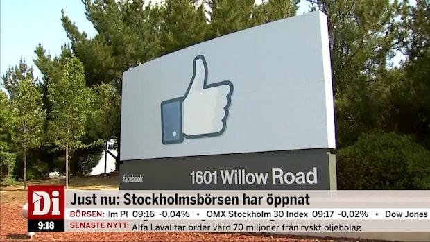 Kanonår för Facebooks ledning