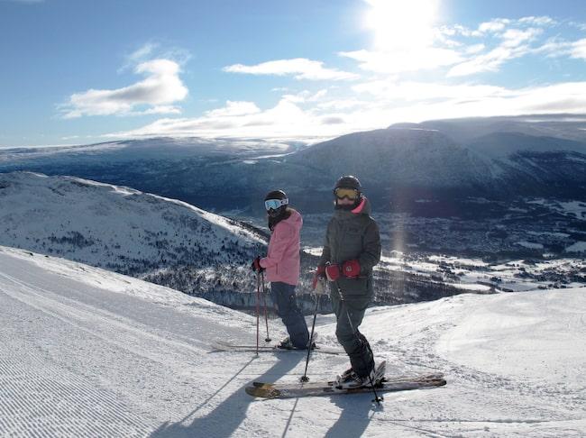 Trots att Oppdal är en av Norges största skidorter, förblir den ganska okänd för svenska skidåkare.