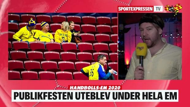 """Larsson summerar EM: """"Hade kunnat bli så mycket mer"""""""