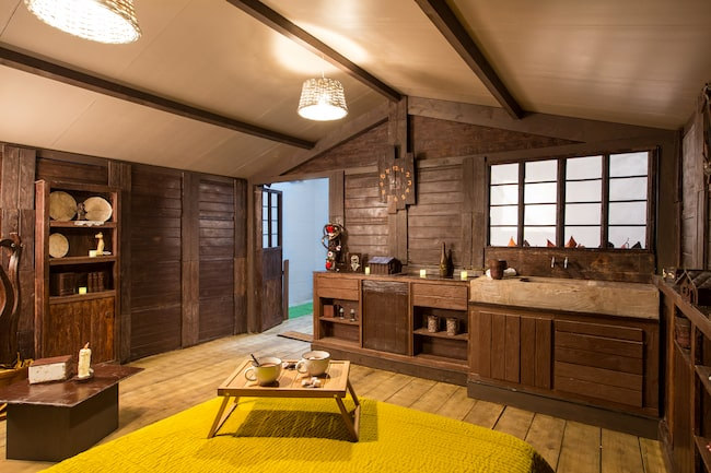 Drömmer du om att bo i en chokladstuga? Nu har du chansen.