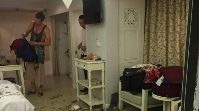 Det såg ut så här inne i huset hon betalat för. Foto: Privat